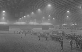 The Royal Canadian Hussars (Montreal) - Barracks at 4185 Chemin Côte-des-Neiges in 1939