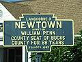 Newtown, PA Keystone Marker.jpg