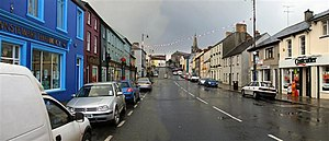 Newtownstewart - Main Street in Newtownstewart.