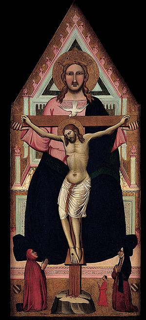 Niccolò di Pietro Gerini - Image: Niccolò di Pietro Gerini The Trinity Google Art Project