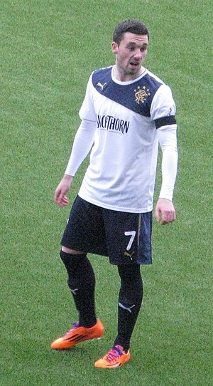 Nicky Clark - Clark playing for Rangers in 2014