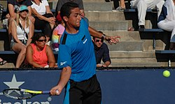 Nicolás Almagro at the 2009 US Open 02.jpg