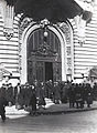 Nicolae Ionescu - The Stock Exchange Palace in March 1928.jpg