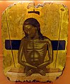 Nicolaos tzafouris (attr.), cristo in pietà, 1480-1500 ca..JPG