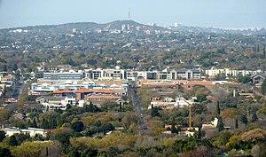 Brooklyn, Pretoria - Nieuw Muckleneuk and Brooklyn suburbs