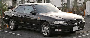 Nissan Leopard - Image: Nissan Leopard 003