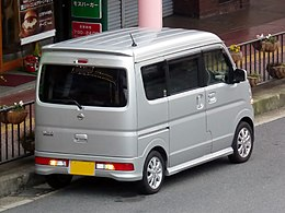 Nissan NV100 CLIPPER RIO G High-Roof (ABA-DR17W) rear.jpg