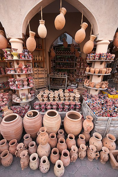 Visit the Nizwa Souq – Purchase Swords, Silverware, Copperware, Pottery and More!