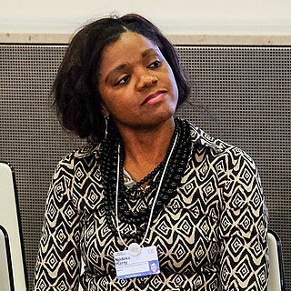 Njideka Harry founder and chief executive officer at the Youth for Technology Foundation; World Economic Forum Schwab Foundation for Social Entrepreneurship Fellow