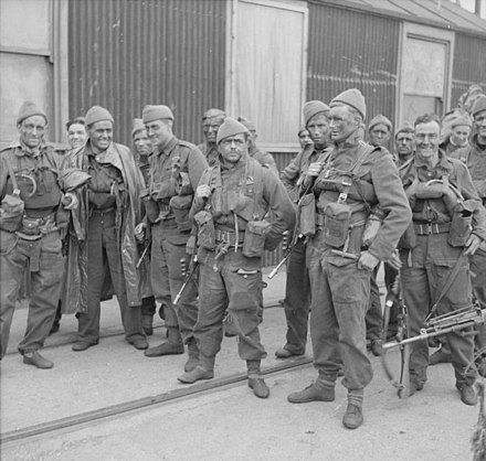 UK commandos during the Second World War