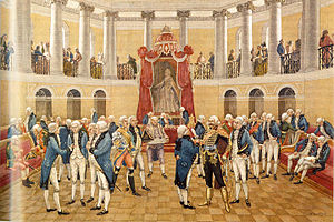 Gentry assembly - The gentry assembly in Moscow at the time of Catherine the Great