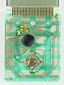 Noname flat calculator - printed circuit board - chip side-2195.jpg