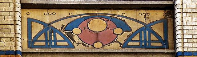 Tegels Den Haag.File Noordeinde 6 In Den Haag Art Nouveau Tegels Jpg