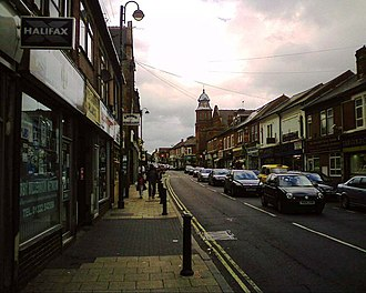 Litchurch - Image: Normanton Road in Normanton in Derby geograph.org.uk 1467127