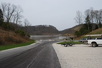 North Bend State Park - Image: North Bend Lake Boat Launch