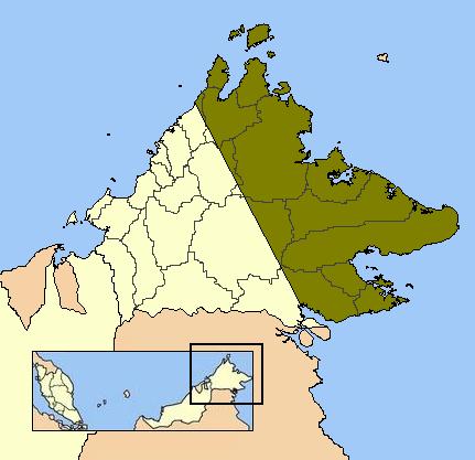 North Borneo Dispute territory
