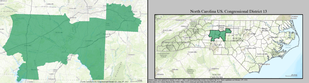 North Carolinas Congressional Districts Wikiwand - Us house district 13 map
