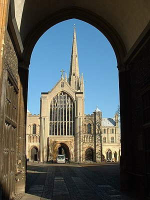 William Paston (died 1444) - Norwich Cathedral, where William Paston was buried