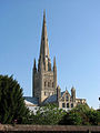 Norwich cathedral from the southwest - geograph.org.uk - 1549667.jpg