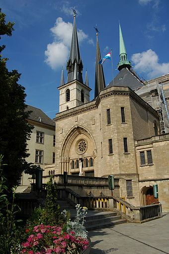 Notre-Dame Cathedral, Luxembourg City Notre Dame Cathedral Luxembourg.JPG