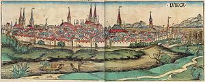 Lübeck - Lübeck in 1493