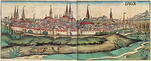 Nuremberg chronicles f 265-66 (Lubeca)