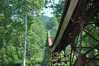 Nuttallburg Coal Mining Complex and Town Historic District United States historic place
