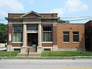 Northwest Davenport Savings Bank - Image: Nw bank davenport iowa