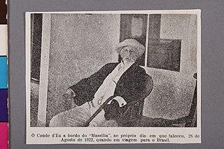 O Conde D'Eu a Bordo do Massilia, Ne Próprio Dia em Que Faleceu, 28 de Agosto de 1922 Quando em Viagem para o Brasil