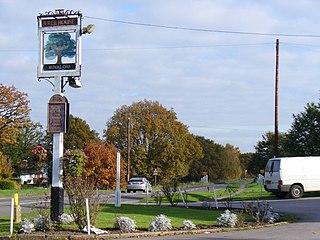 Wood Street Village Village in England
