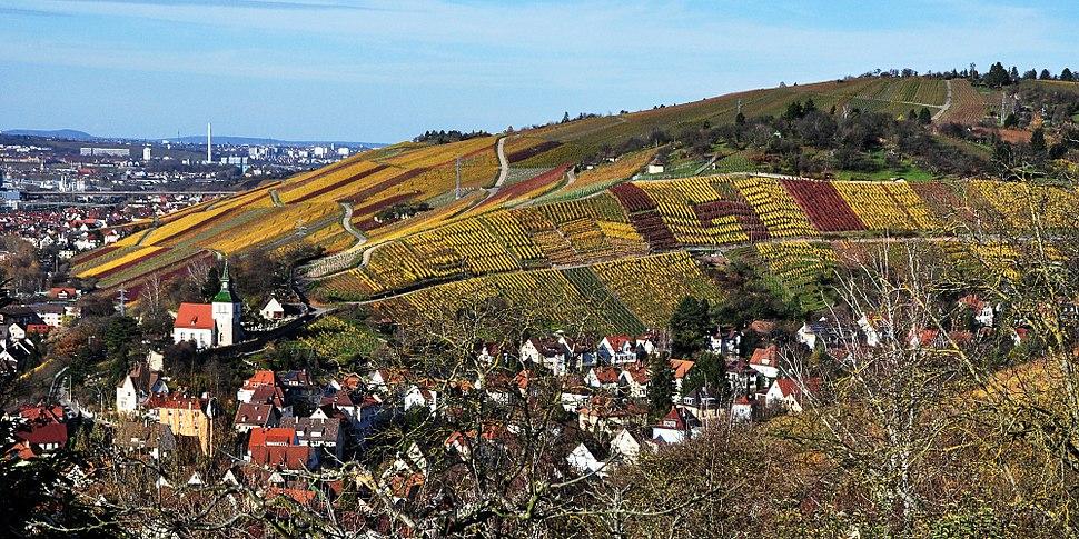 Obertürkheim und Neckartal