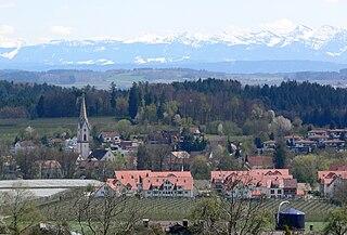 Tübach Place in St. Gallen, Switzerland