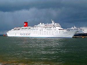 Ocean Dream (1982 ship) - Image: Ocean Dream at Pier 24 in Port of Tallinn 1 June 2017