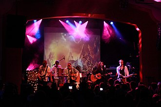 Of Monsters and Men - Of Monsters and Men performing in October 2011.