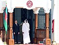Official welcome ceremony was held for Ilham Aliyev in Qatar, 2017 02.jpg