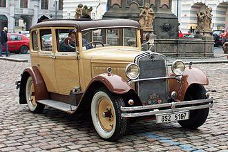 Škoda Auto - Škoda 422 (1929)
