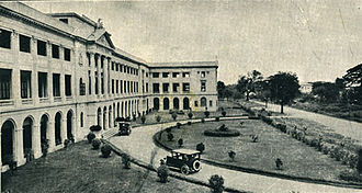 Taft Avenue - De La Salle University on Taft Avenue, circa 1920