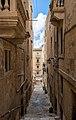Old Town Valletta narrow street, Malta (PPL2-Enhanced) julesvernex2.jpg