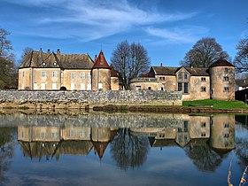 Château d'Ollans, замки Франш-Конте, достопримечательности Франции