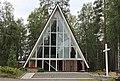 Olli Kuusi - Rautalammin siunauskappeli - 1956 - Kuopiontie 15, Rautalammin kk - Rautalampi - 1.jpg