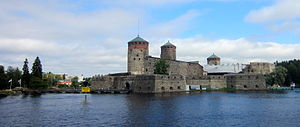 Savonlinna Opera Festival - St. Olaf's Castle, the venue for the Opera Festival in Savonlinna.