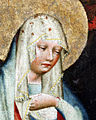 Oltář třeboňský, P. Marie (detail).jpg