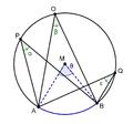 Omtrekshoeken op dezelfde boog.png