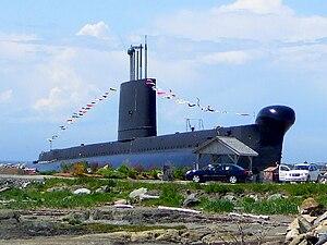 HMCS Onondaga (S73) - Image: Onondaga S73