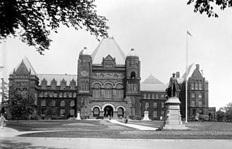 E. J. Lennox - Queen's Park with 1909 west wing renovation