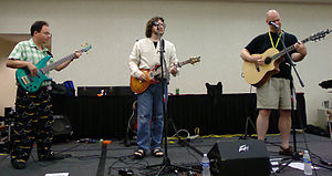 Ookla the Mok (band) - Ookla the Mok at DucKon 2008
