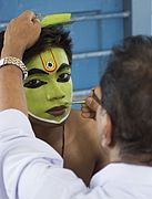 Oottam thullal make up.jpg