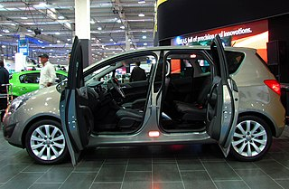 file opel meriva flexdoors wikimedia commons. Black Bedroom Furniture Sets. Home Design Ideas