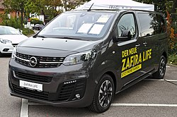 Opel Zafira Life Wikipedia