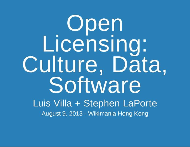 File:Open Licensing-Culture, Data, Software-Wikimania2013.pdf